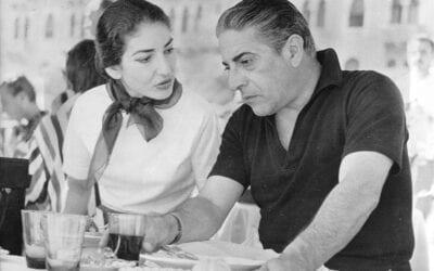 Μεγάλοι έρωτες και οι συναστρίες τους: Αριστοτέλης Ωνάσης και Μαρία Κάλλας