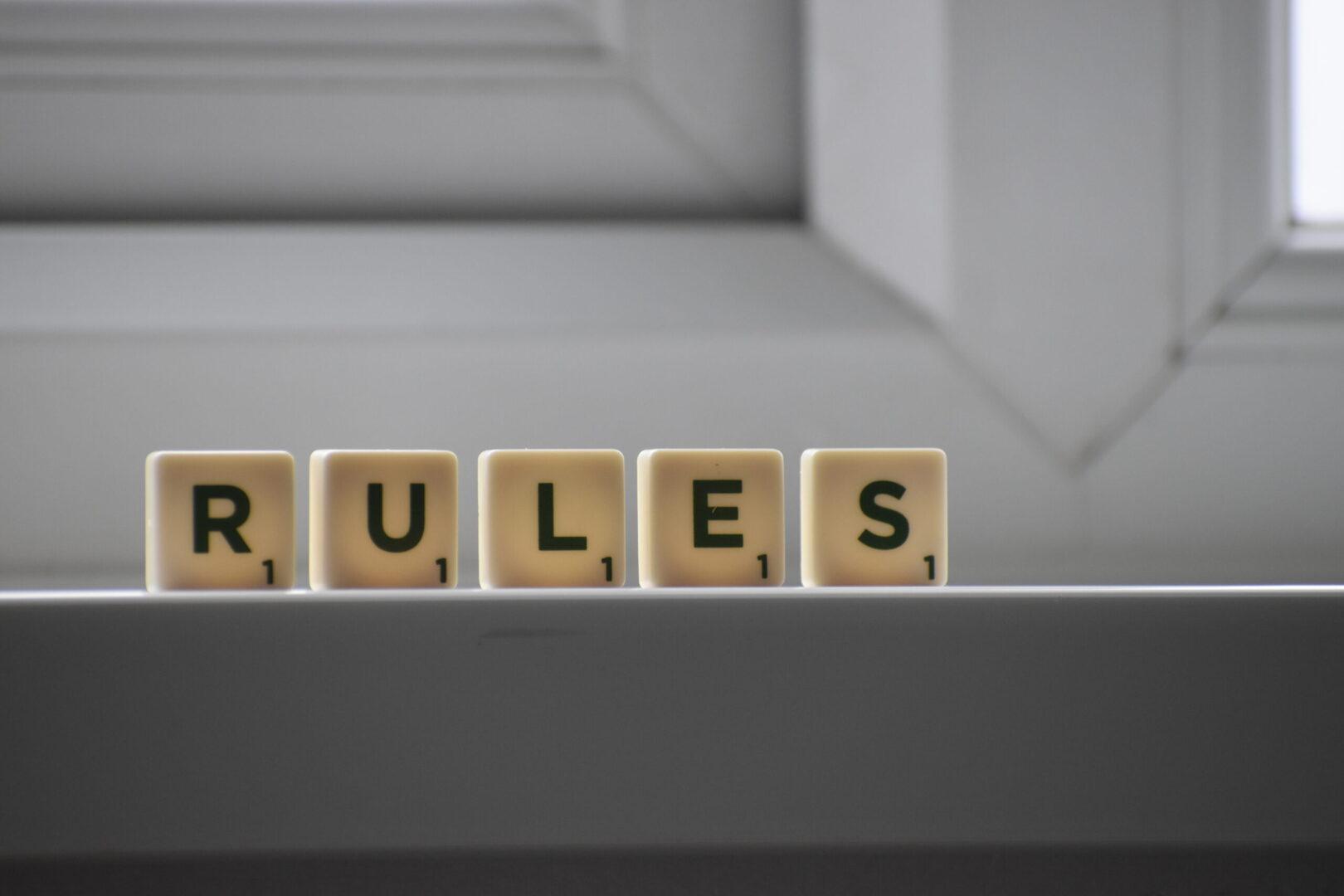Ο κανόνας είναι να ΜΗΝ υπάρχει κανόνας!